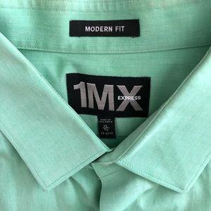 Mint green dress shirt
